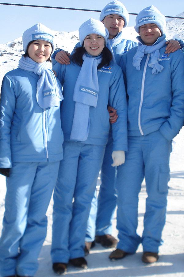 Куртки, штаны, шапки, шарфы для акции Имунеле