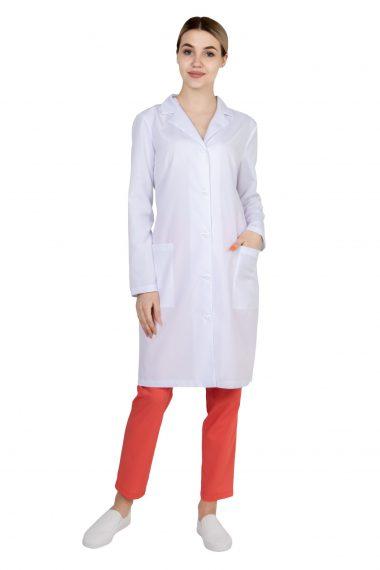 Халат с выточками женский для медика