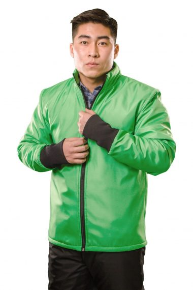 Куртка на стеганом подкладе для продавца