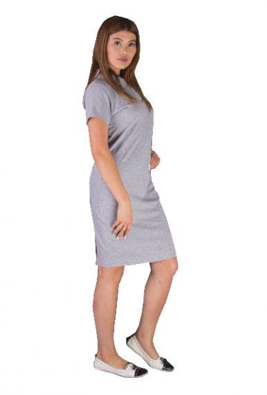 Платье Поло Серое для супервайзера