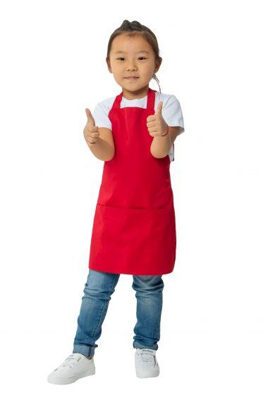 Фартук детский Красный для развивающей студии