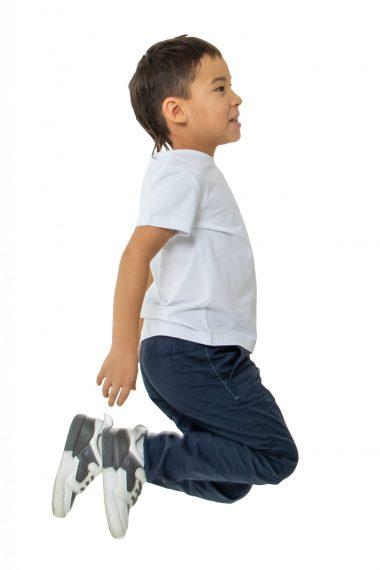 Футболка детская Белая для школы искусства