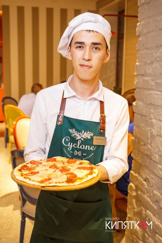 Фартук для итальянского ресторана