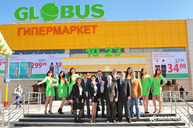 Платья для промоутеров на открытие GLOBUS