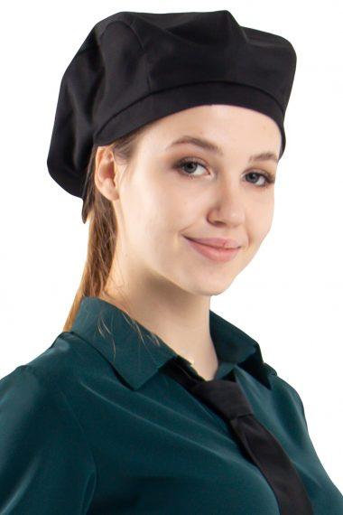 Кепи для официанта Чёрный