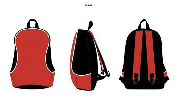 Рюкзачок маленький 30х40х16 см для промо