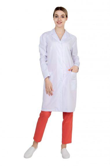 Халат женский с рукавами Реглан для медика
