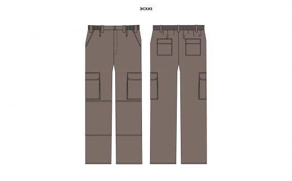 Спец брюки мужские для СТО